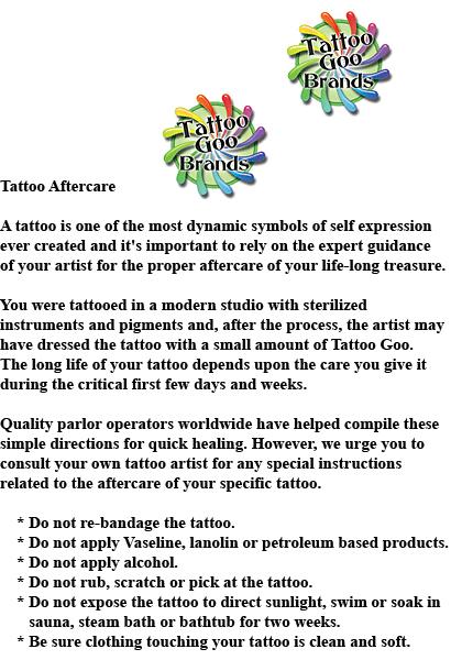 100 tattoo goo tattoo goo aftercare dermasoft for Tattoo goo review